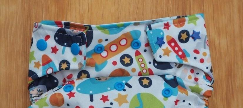 Astronauten-Windelüberhose