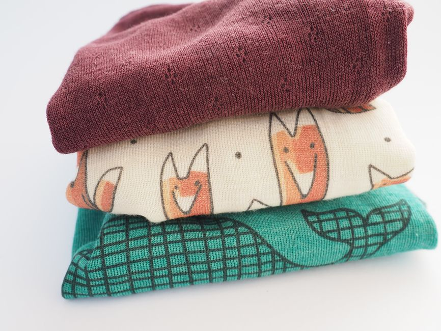 Babyshirt aus Wolle-Seide